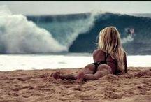 surf + summertime / by Kimberley Kufaas