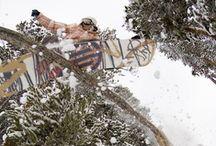 snowboarding  / by Kimberley Kufaas