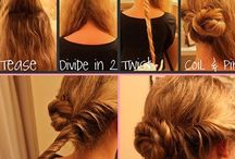 Hairdo's / by Donna Cooper