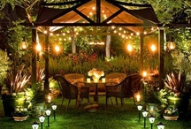Home: exterior / Gardens, porches, exteriors, doors, patios, etc. / by Lindsay Docherty