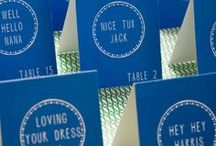 Events | Escort Cards, Table Numbers & Seating Charts / by Tinsel & Twine Event Design