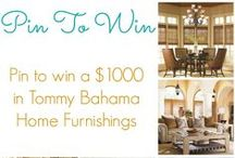 Pin To Win Tommy Bahama Home / *Contest has ended* Life is one long weekend with Tommy Bahama. Celebrate Tommy Bahama Month with Baer's! Pin to win a $1000 in Tommy Bahama Home Furnishings from Baer's. Enter here: https://www.facebook.com/BaersFurniture/app_199909830142802 / by Baer's Furniture