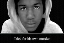 [NO] Justice For Trayvon  / A 17 year old boy was within his rights to go to the store – even while wearing a hoodie in the rain.  He was within his rights to walk home with a can of ice tea and skittles. There is nothing coming close to self-defense when someone leaves their zone of safety with a weapon to stalk an unarmed child. There is something drastically wrong when someone ignores instructions to stay in his car, stalks and kills an unarmed child, claims it was self-defense and gets away with it. / by Tracy Walker