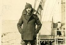 Men's Pea Coats and Nautical Inspiration / The wool pea coat proves that true style is timeless. Created for the Royal British Navy somewhere in the mid-to-late 1800s, then adopted by the US Navy, the pea coat has been essential to surviving life at sea (or the landlocked life) for centuries. / by Lands' End