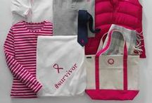 #PinkThread / This October, we've partnered with Breastcancer.org to raise funding and awareness for their programs. How can you help?   Simply get one of six pink embroideries on any item you choose, and Lands' End will donate 75% of the $6.00 embroidery fee to Breastcancer.org  Learn more at landsend.com/pinkthread / by Lands' End