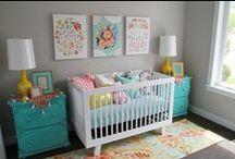 For baby & nursery / by Theresa Traska