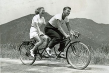 Wheels / Much appreciation to the work of those responsible at http://ridesabike.tumblr.com for contibuting to many of the pictures of movie stars and their two wheeled vehicles on this board. / by David Venier