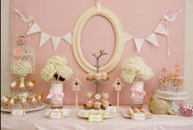 wedding/baby shower ideas / by Sarah Wade