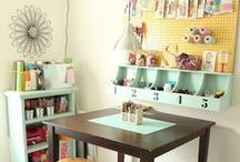 Craft Room Ideas / by Cynthia Mann