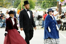 The Fabulous 1890s Weekend / The Fabulous 1890's Weekend revolves around the fact that the world's first night football game was played in  Mansfield, Pennsylvania on September 28, 1892. The celebration is always the last full weekend in September.  / by Mansfield University