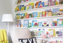 Bookshelves and Storage / Encourage reading in your home by creating appealing ways to store and display your books.  For outstanding reading resources, please visit www.AllAboutLearningPress.com. / by All About Learning Press, Inc.