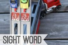Sight Words / Sight words make up 60-80% of the words in children's readers. These sight word activities can help children memorize these high frequency words and increase fluency! / by All About Learning Press, Inc.