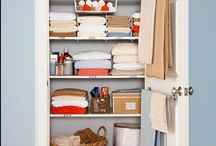 organization and storage / by Sarah Wade