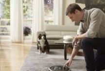 iRobot Roomba® Vacuum Cleaning Robots / Roomba brings the latest robotic technology to the real-world everyday task of vacuuming. Using its patented, three-stage cleaning system, Roomba lifts dirt, pet hair and other debris from all areas of your floor, including under and around furniture and along wall edges. Roomba automatically adjusts between floor types to vacuum carpets, hardwood, tile and linoleum floors.  / by iRobot®