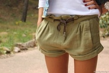 street style: shorts / by Irene Choi