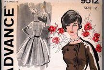 Vintage Sewing Patterns & Illustrations / Vintage sewing patterns and Illustrations / by Isabel Wagner