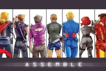 The Avengers and Other Super Heroes / by Christina Lopez