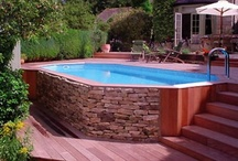Pool Landscapes   / Once your new pool is installed you'll need some landscaping. Here is a some Idea's for the outdoor enthusiast.  http://www.abovegroundpoolbuilder.com/ / by The Above Ground Pool Builder