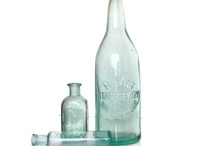 Crystal Blue Persuasion / Beautiful blue collections, some featuring my pretty aqua bottles / by Lori Kimball