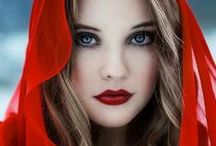 Red / Red - the color of fire, passion and love! / by Lori Kimball