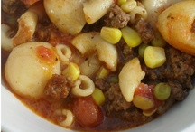 Soup and Stew Recipes / by Shelley Frady~Ground Beef Budget Cooking & More