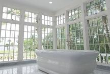 Bathrooms / Luxurious bathroom designs and ideas / by Kolbe Windows & Doors