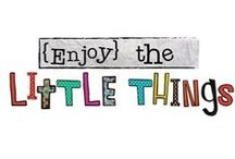 C.R. Gibson:  {Enjoy} the Little Things / by Things With Wings