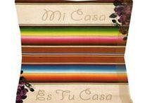 Mi Casa Es Su Casa / Spanish Style Decor / by Paulette Zamorez Clay