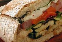 Sandwiches, Wraps, Panini's / by Susan Kann Haas