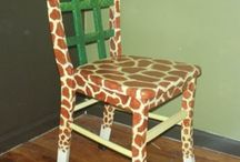 Painted Chairs for School Auction / by Kerry Margaret