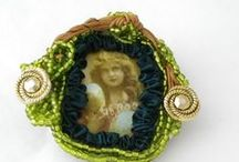 Brooches and bracelets / #Brooches #jewels #bracelets / by Brin de poésie