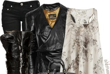 Rocker Outfits / by Olivia Toledo