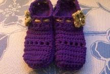 Crochet Slippers / by Kathy Davenport
