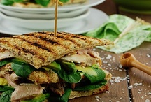 Sandwiches | Wraps  / Sandwiches, Burgers, Wraps & On Toast / by Amy Yuangbhanich