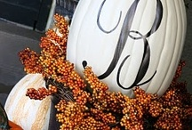 Fall/Thanksgiving / by Amber Deutscher Craig