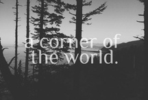 a corner of the world. / by Emily Pullen