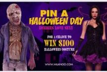 Pin A Halloween Day- Zombies Love Sexy / Pin for the chance to win! Our Halloween Pinterest Contest had been ended .Check the winner list on milanoo official FB page: https://www.facebook.com/milanoo.us / by Milanoo