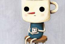 Good to the last drop / Joe, Java, cafe, coffee....art of the beverage☕️☕️☕️ / by Marla Malatak