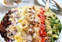 """I'll Just Have a Salad / Salad can be """"real food"""".   Not just a promise that real food is coming. / by Jenha Martin"""