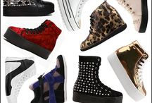 Heels Boots and Cool Kicks / Shoooooees! / by Mandy Poulos
