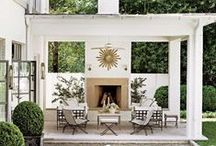 outdoor rooms / by Things That Inspire