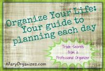 Getting my organizing on... / by Jamie Fleming Lanier