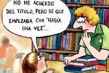 Mundo del libro: Humor / by Inma Ladaga