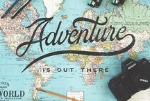 ~on an adventure~ / ~ I want to travel the world ~  / by Terri Banta