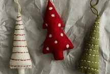 Felt and Other Christmas Cheer / Christmas time crafts and decor / by Megan Morris