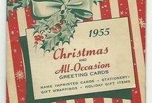 Vintage Christmas / by Cheryl Miller
