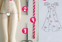 doll sewing  / patterns, tutorials, and information for doll sewing / by Ann Morgan-Cummings