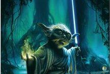 may the force / Star Wars, Jedi, Sith, Darth Vador, Luke Skywalker, Wookie, yoda / by caleb vh