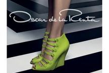 """Oscar De La Renta / After apprenticing with the likes of Balenciaga and Antonio Castillo at Lanvin, the Dominican designer went off on his own in 1965. """"I always tell this story: When I started, the woman went to the store to buy a dress. She saw it in pink and red, and then she remembered that the husband, who is probably going to pay for the dress, loves it in pink. So she buys the pink. Today, the same woman goes to the store and remembers the husband likes pink, and she buys the red.'"""" —Oscar De La Renta / by Bashert Jewelry"""
