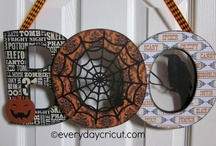 Halloween Paper Crafts / Halloween Scrapbooking & DIY Paper Crafts (Cricut & Pazzles) / by Tonya DeWitt